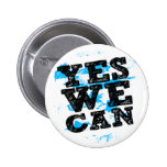Barack Obama Yes We CAN Buttons Pins