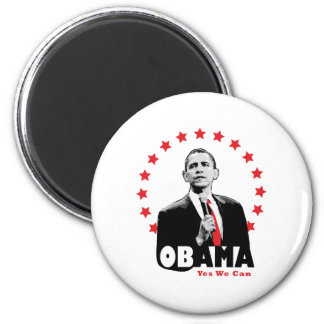 Barack Obama - Yes We Can Magnet