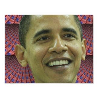 Barack Obama's Face Card