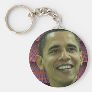 Barack Obama's Face Keychain