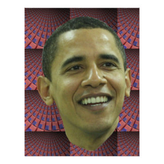 Barack Obama's Face Letterhead