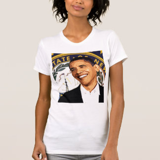 Barack Obama's Winning Smile Altered Photo T-shirt
