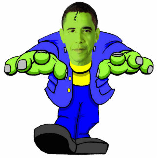 Barack Obamastein Fotoescultura Vertical