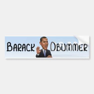 Barack Obummer Pegatina Para Auto