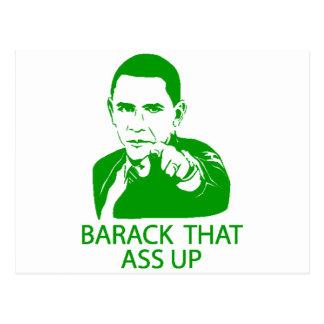 Barack Postcard
