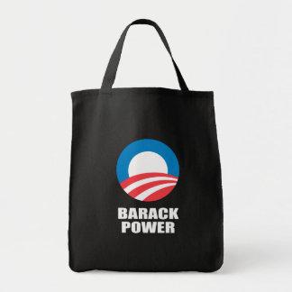 BARACK POWER GROCERY TOTE BAG