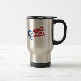 Barack & Roll 15 Oz Stainless Steel Travel Mug