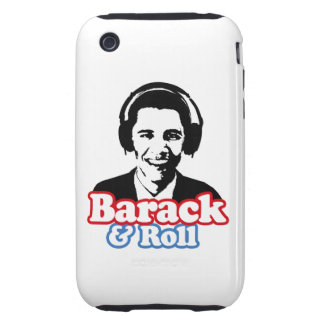 BARACK & ROLL TOUGH iPhone 3 COVERS