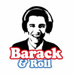 BARACK & ROLL PHOTO CUTOUT