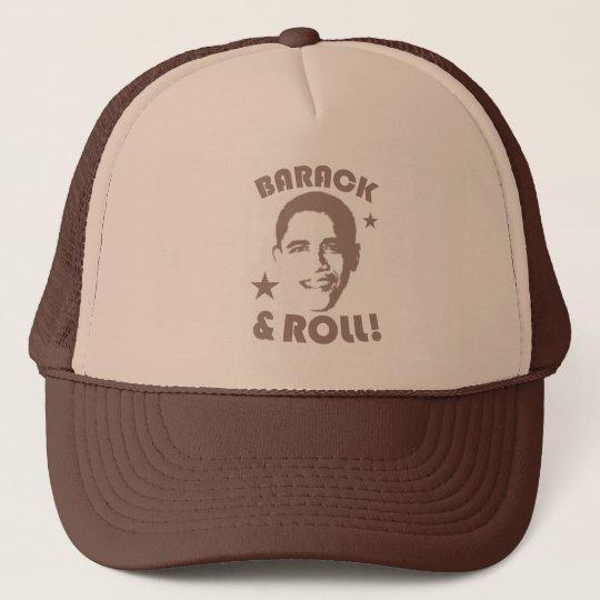 BARACK & ROLL! TRUCKER HAT
