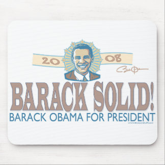 Barack Solid Halo Mousepad