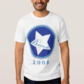Barack star blue t shirt