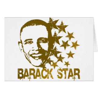 Barack Star Card
