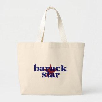 Barack Star Large Tote Bag