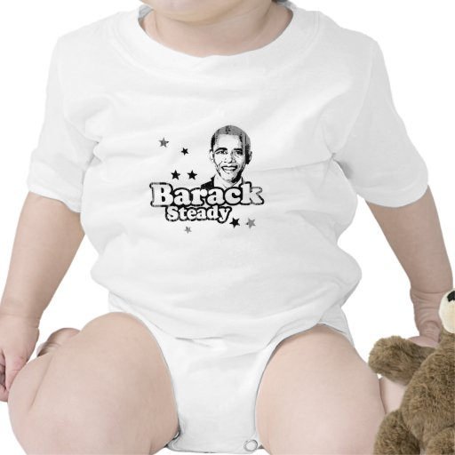 Barack Steady Faded.png Tees