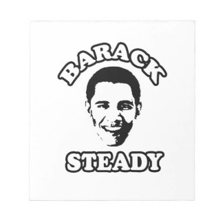 BARACK STEADY - png Note Pad