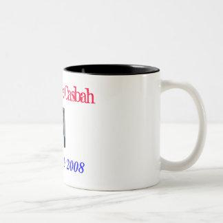 Barack The Casbah, Obama In 2008 Two-Tone Coffee Mug