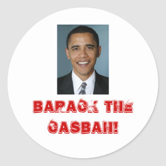 Barack The Casbah! Stickers