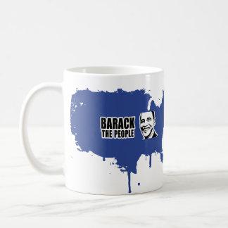 Barack the People Obama Bumper 5.png Coffee Mugs