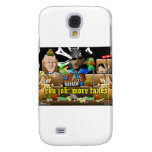 Barack The Pirate and Davy Jones Galaxy S4 Cover