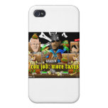 Barack The Pirate and Davy Jones iPhone 4 Cases