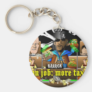 Barack The Pirate and Davy Jones Key Chain