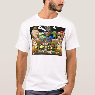 Barack The Pirate and Davy Jones T-Shirt