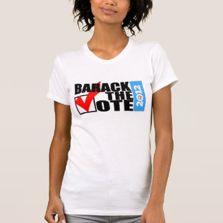 Barack The Vote 2012 Original Women's T-Shirt