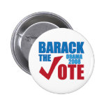Barack the Vote Obama 2008 Election Campaign Pin