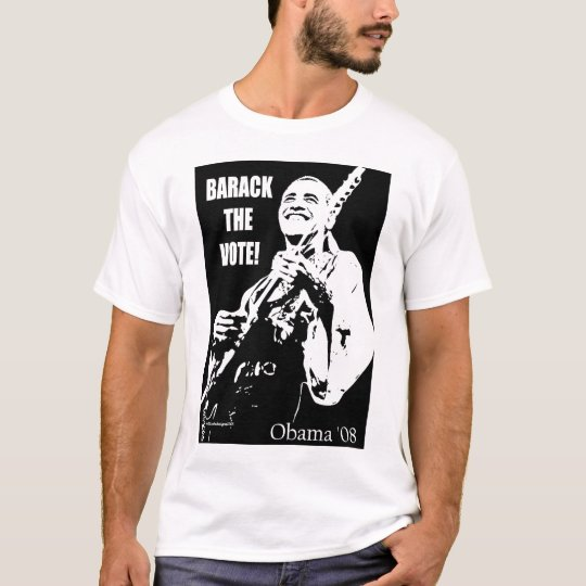Barack The Vote Obama T-shirt