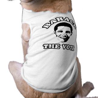 BARACK THE VOTE- -.png Pet T Shirt
