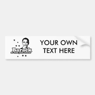 BARACK US WITH YOUR CAUCUS -.png Bumper Stickers