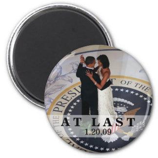 Barack y baile de Michelle Obama en el Bal Imán Redondo 5 Cm