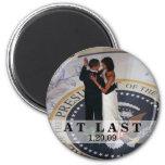 Barack y baile de Michelle Obama en el Bal inaugur Imán De Nevera
