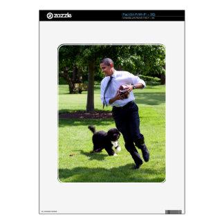 Barack y BO Obama iPad Skins