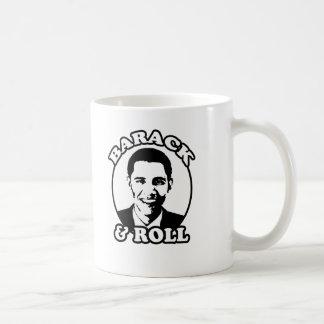 """""""Barack y camisetas y regalos del rollo"""" Taza De Café"""