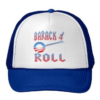 Barack y gorra del rollo