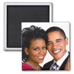 Barack y imán de Michelle Obama