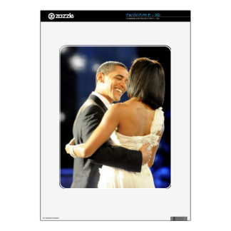 Barack y Micaela Obama iPad Skins