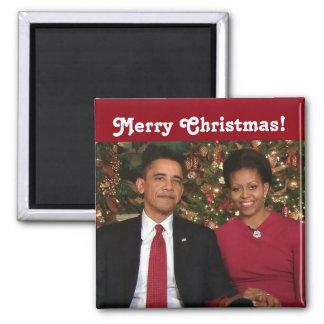 Barack y Michelle 2009WA - imán