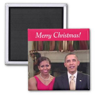 Barack y Michelle 2011WA - imán