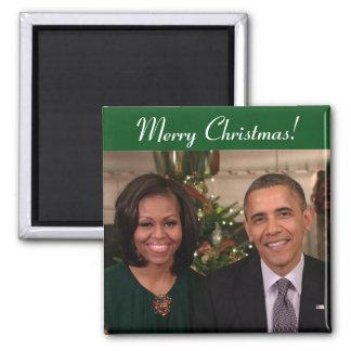 Barack y Michelle 2012WA - imán