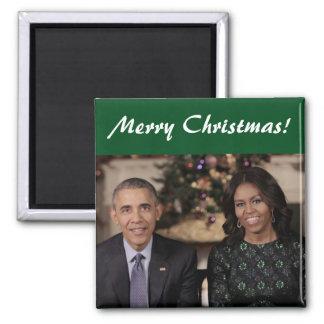 Barack y Michelle 2015WA - imán