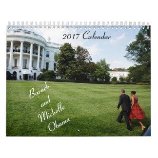 Barack y Michelle 2017 - calendario