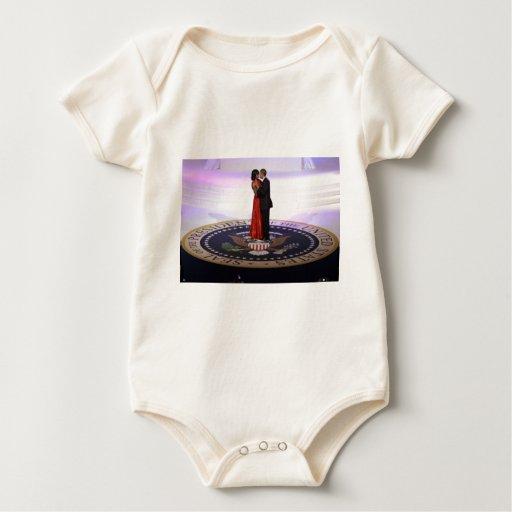 Barack y Michelle Obama Body De Bebé