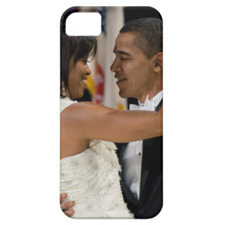 Barack y Michelle Obama Funda Para iPhone 5 Barely There