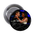 Barack y Michelle Obama Pin Redondo 5 Cm