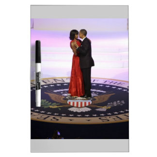 Barack y Michelle Obama Pizarra Blanca