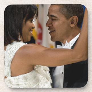 Barack y Michelle Obama Posavasos