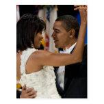 Barack y Michelle Obama Postales